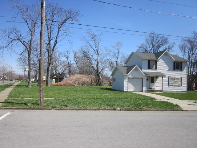 Buffalo's Fruit Belt neighborhood