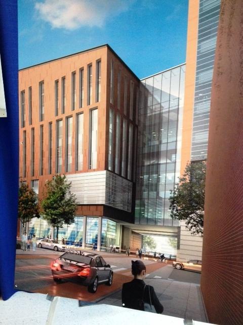 Rendering of UB's new medical school
