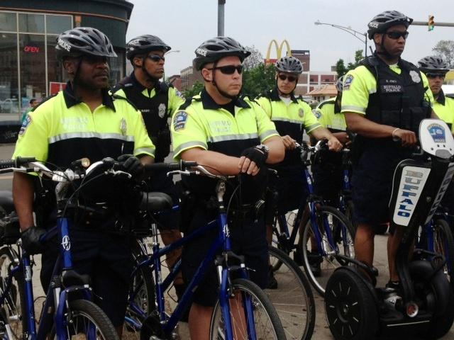 Buffalo Police kick off summer bike & foot patrols