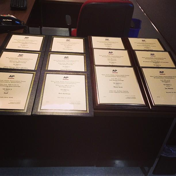WBFO wins six first place, six special mentions for 2012 AP Awards