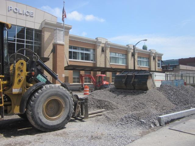 Construction along Main Street to return cars