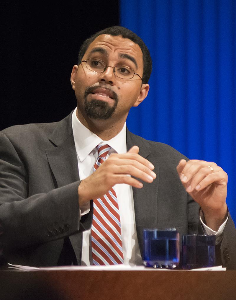 NYS Education Commissioner John King during Education Conversation