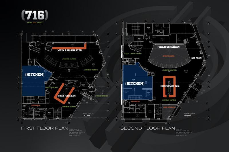 Floor plans for (716)