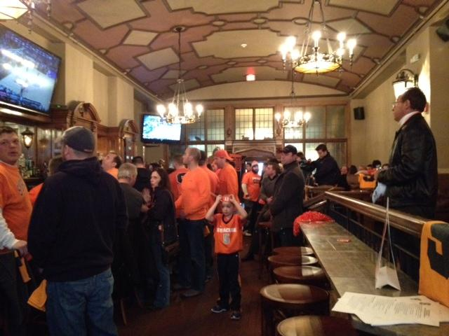 Syracuse fans take over Pan-Am.