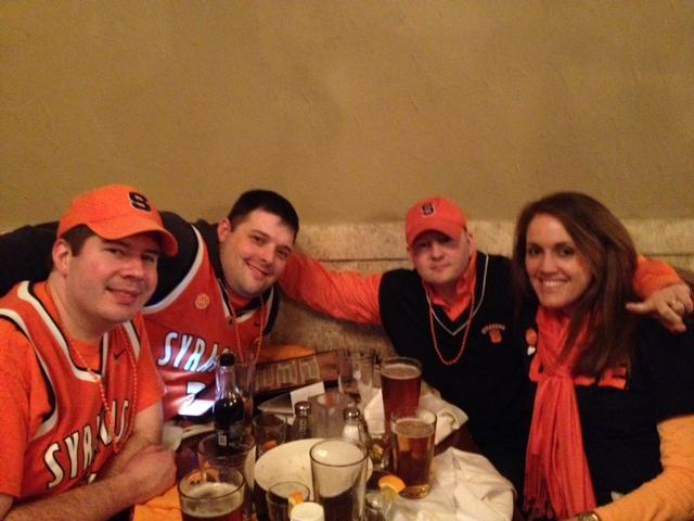 Syracuse fans are hanging out at Pan American Grill & Brewery