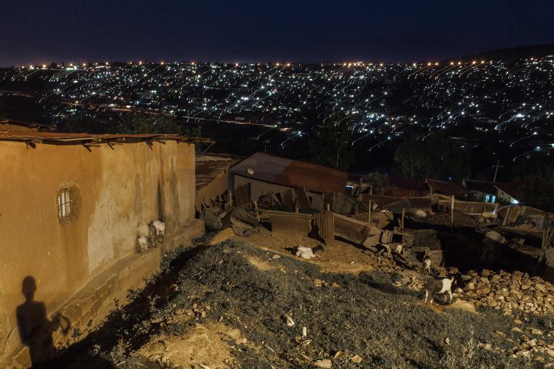 Night. Kigali, Rwanda