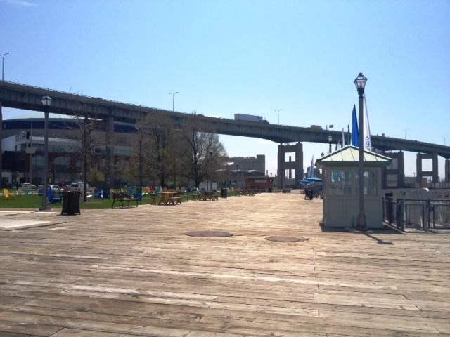 Canalside boardwalk gives citizens a great view of our water