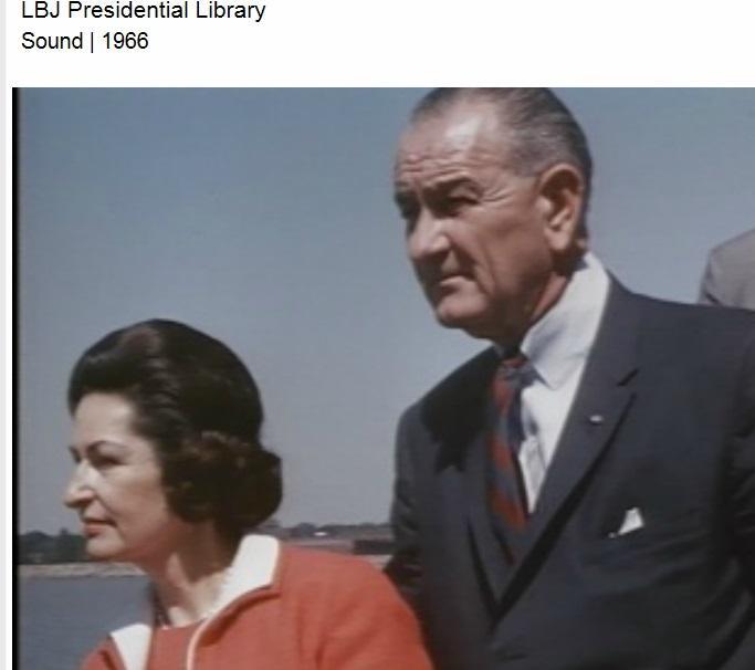 PHOTO: LBJ Presidential Library / Buffalo visit August 1966.