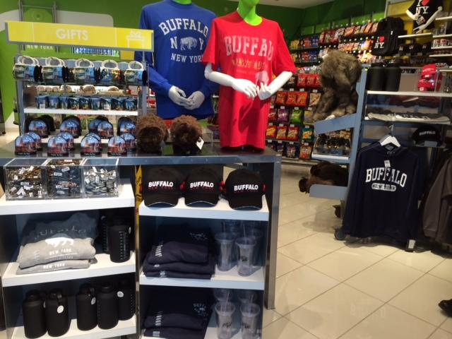 The Buffalo-themed gifts found at Jet Set.