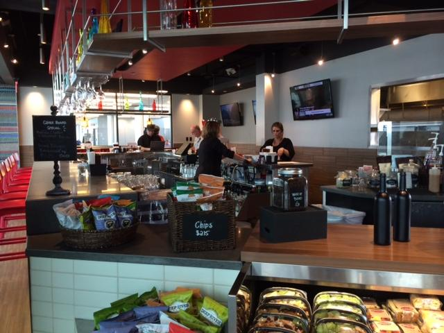 Queen City Kitchen at Buffalo Niagara International Airport.