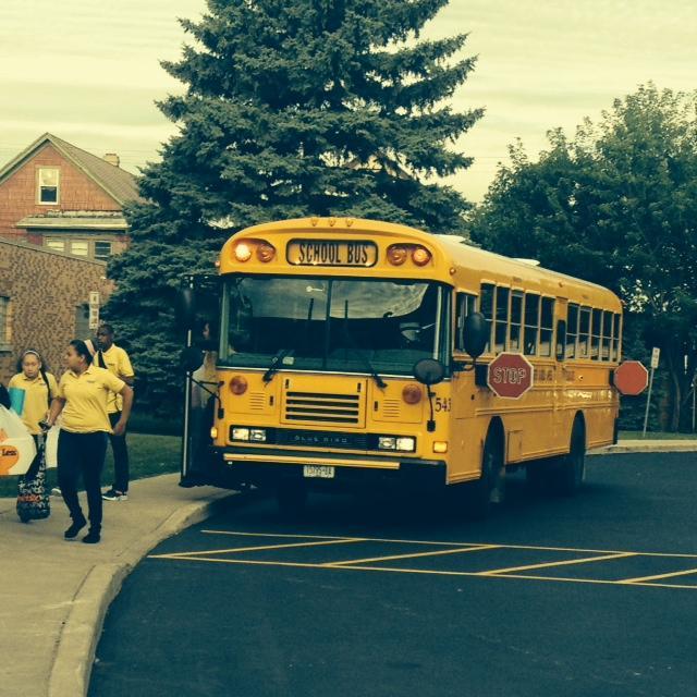 Buses arrive fro CSAT