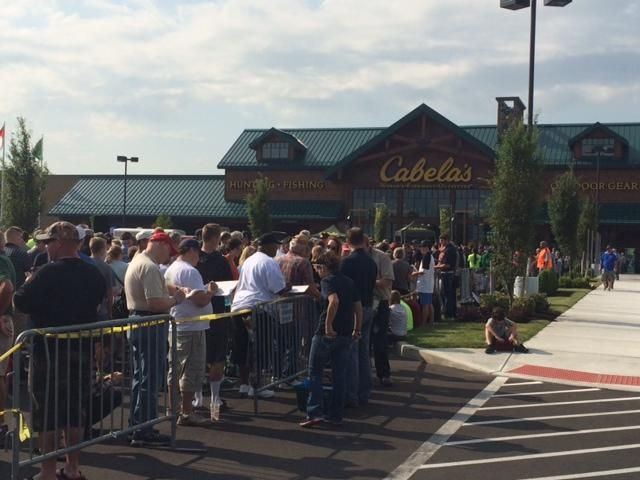 New Cabela's in Cheektowaga draws thousands.