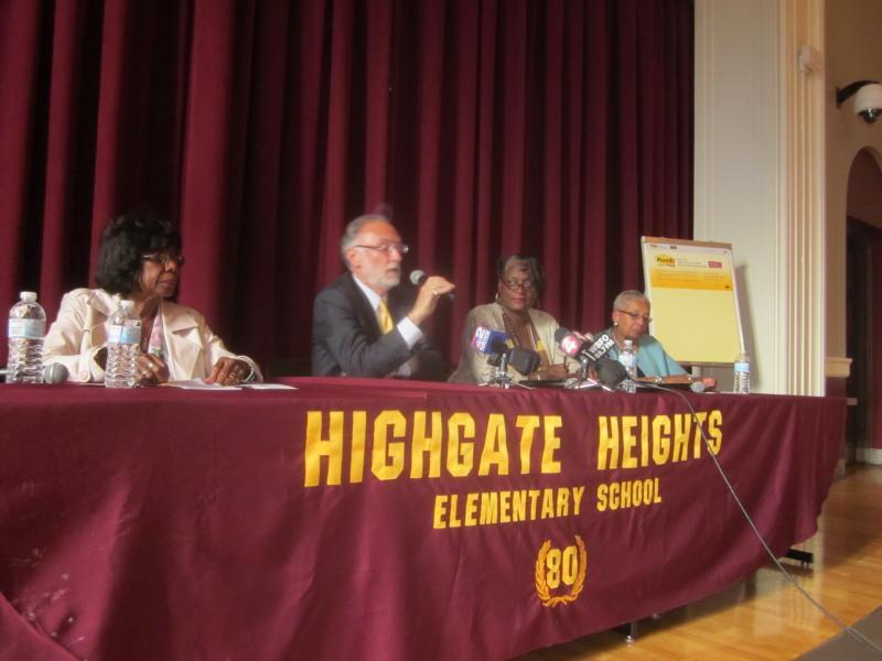 Interim Buffalo Schools Superintendent Don Ogilvie
