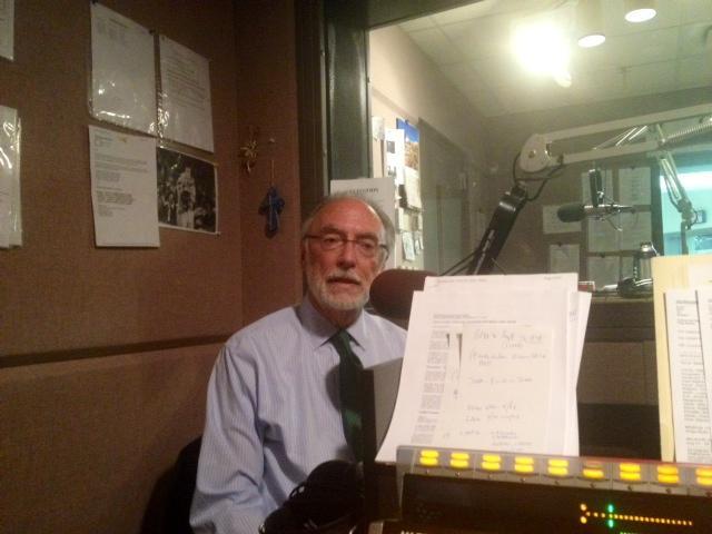 Interim Buffalo Schools Superintendent Don Ogilvie in studio
