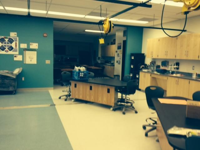 Inside brand new STEM lab at Niagara Falls High School
