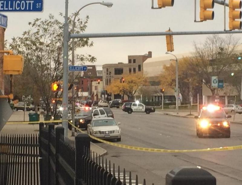 Buffalo Police deal with a hostage situation at a Broadway pawn shop