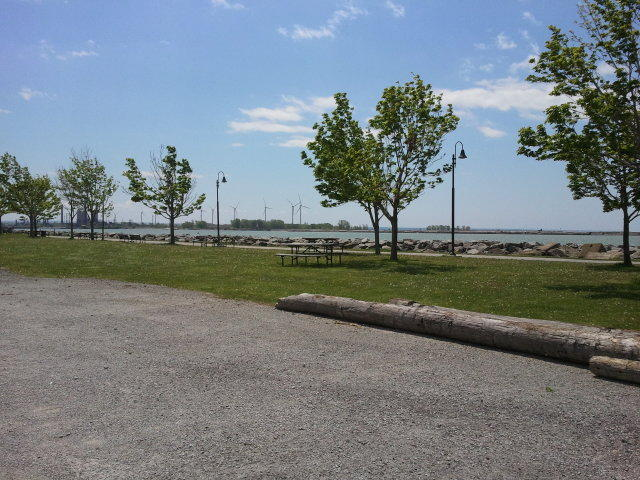 The waterfront at Buffalo Harbor State Park will become the site of a fishing pier, with construction beginning this summer.