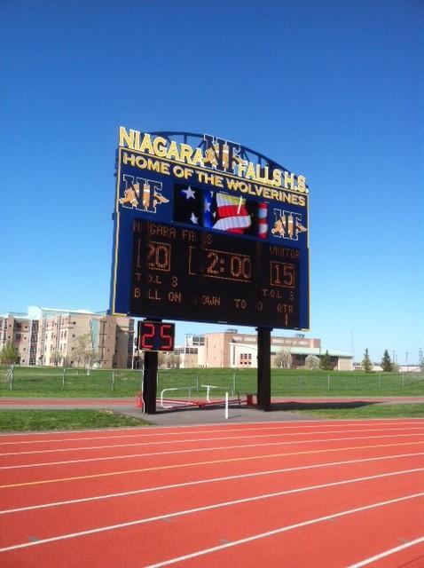 Niagara Falls High School Unveils New Athletic Complex Wbfo
