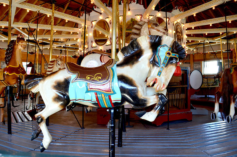 A historic carousel, like this one located at the Herschell Carousel Factory Museum in North Tonawanda, could be coming to the Buffalo waterfront.