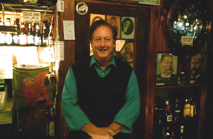 Michael Driscoll, owner of Founding Fathers Pub in Buffalo, has hosted what has become a semi-official post-election stop for many in local politics since 1985.