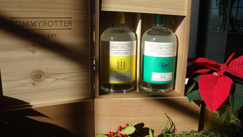 Tommyrotter Distillery makes small batch vodka and American gin, using New York State corn.