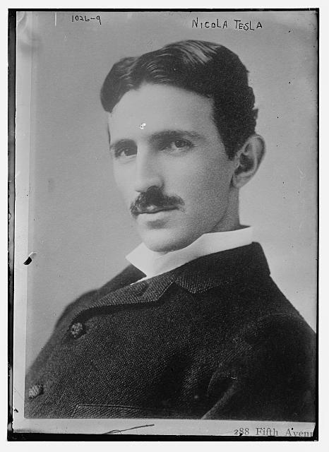 Nikola Tesla, visionary inventor, around 1890.