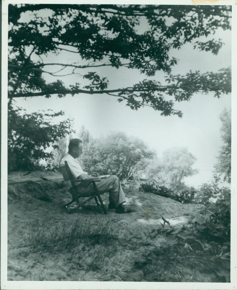"The great watercolorist at work amid what he called the ""eternal verities"" of the Western New York landscape."