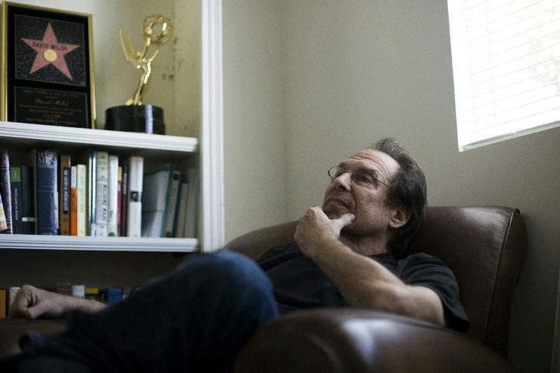 David Milch is rebuilding his life after losing a small fortune gambling.