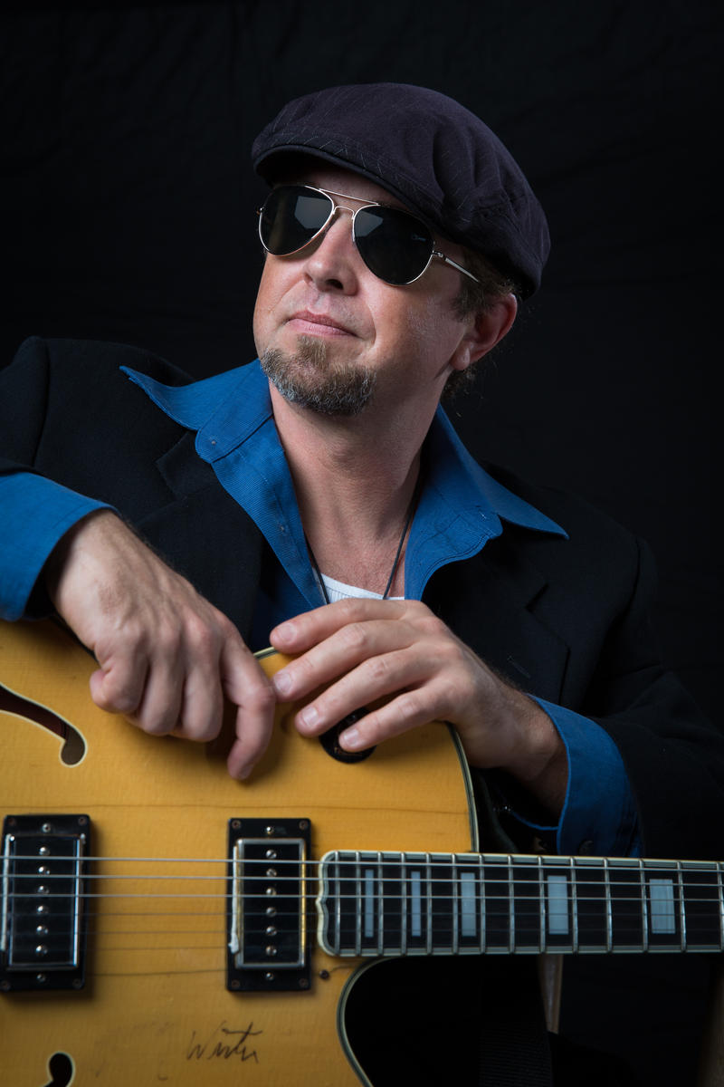 Blues guitarist JP Soars will headline this weekend's WBFO Blues Bash