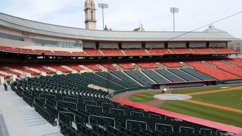 The Bisons play their home opener Thursday afternoon at Coca-Cola Field