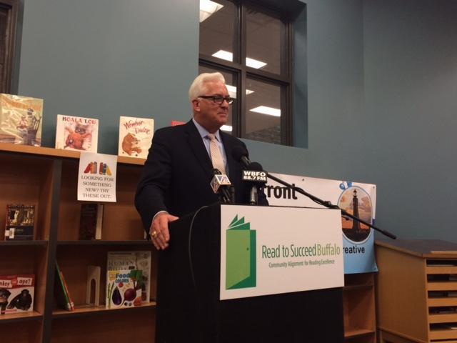 Read to Succeed Buffalo Board Chairman Jack Quinn