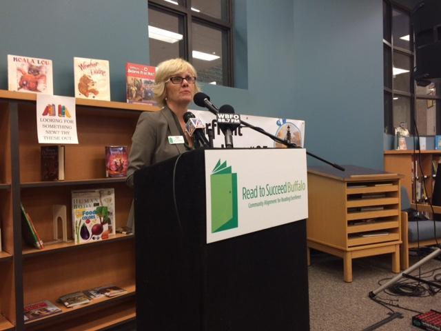 Read to Succeed Buffalo Executive Director Ann Ryan