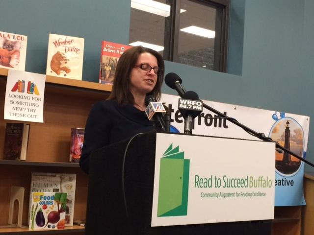 Anne Botticelli, Chief Academic Officer for Buffalo Public Schools
