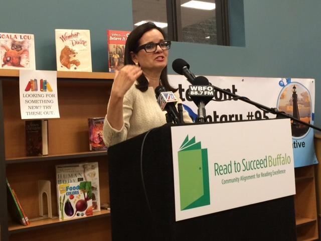 Clotilde Perez-Bode Dedecker, President/CEO Community Foundation for Greater Buffalo