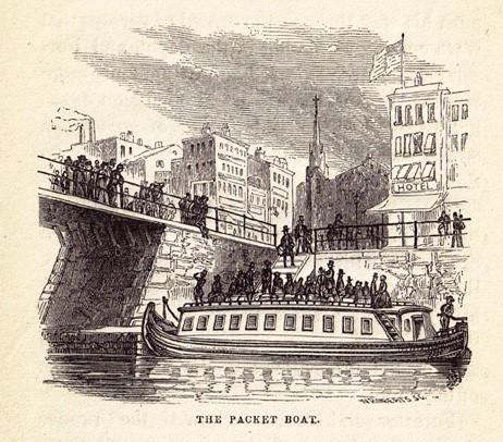 The Erie Canal carried settlers across New York State to Buffalo, where they set sail for Ohio, Michigan and beyond. Those settlers took their distinctive ee-accent with them.
