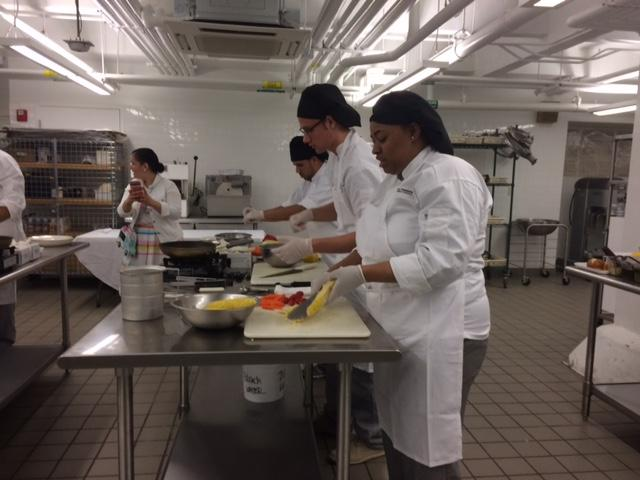 Emerson School of Hospitality students