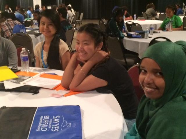 Say Yes Buffalo scholars attend two-day work shop called 'Count Down to College'.