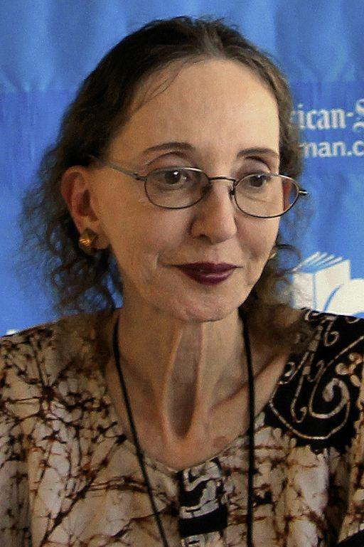 Joyce Carol Oates in 2014, nearly 70 years after her magical first visit to the Lockport Public Library.