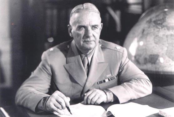 Maj. Gen. William J. Donovan as head of the Office of Strategic Services, the spy agency that helped win World War II. Donovan grew up in Buffalo, in a family that hid undocumented Irish immigrants who had snuck across the border from Canada.