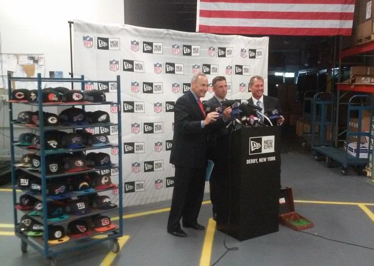 New Era To Manufacture Nfl Hats At Derby Factory Wbfo