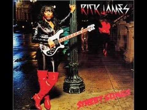 """""""I was born in a city we call Buffalo"""": Rick James on the cover of Street Songs, a 1981 album largely about his hometown."""