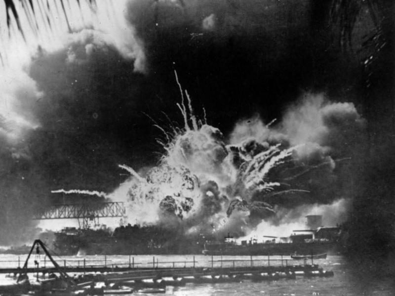 Pearl Harbor December 7, 1941.