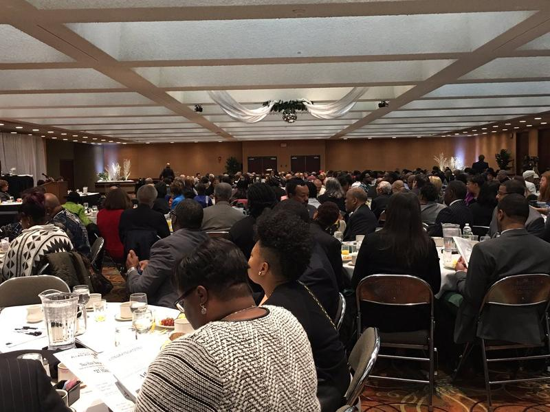 Annual Martin Luther King celebration at the Buffalo Convention Center.