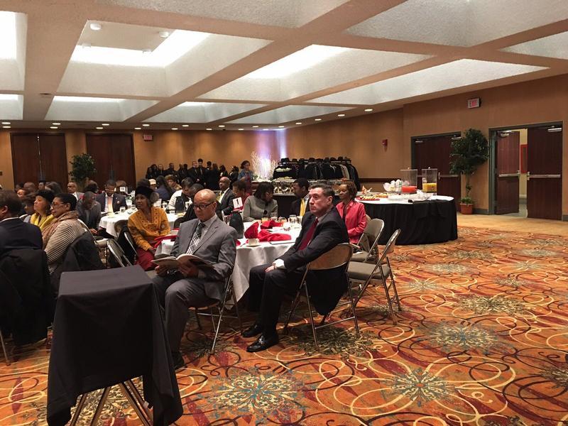 Erie County DA John Flynn attends MLK event.