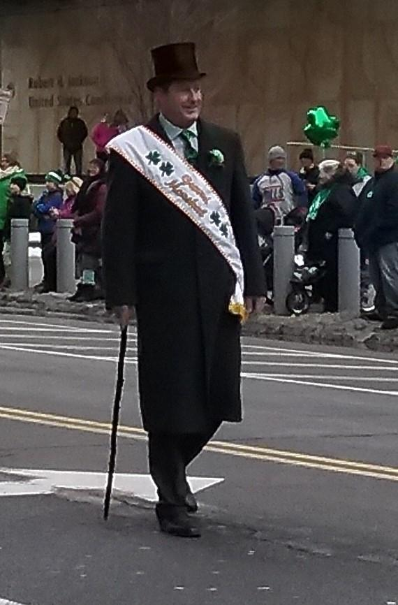 Parade Grand Marshall Jeff Wilson