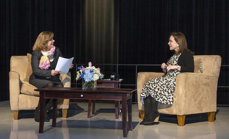 WBFO's EIleen Buckley in conversation with NPR's Renee Montagne