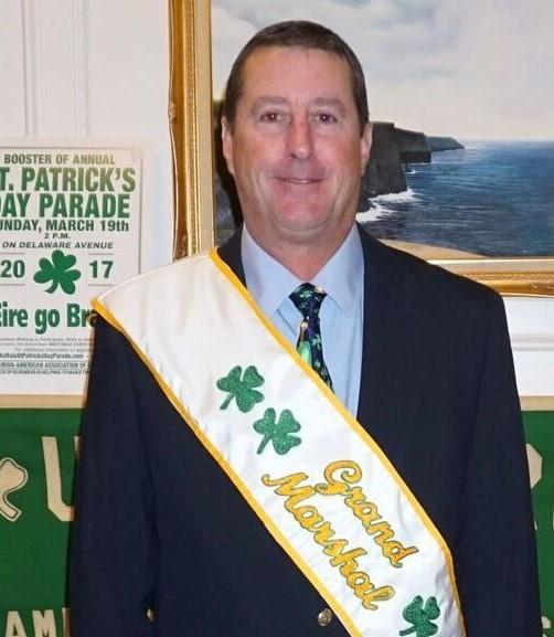 St. Patrick's Day Parade Grand Marshall Jeff Wilson