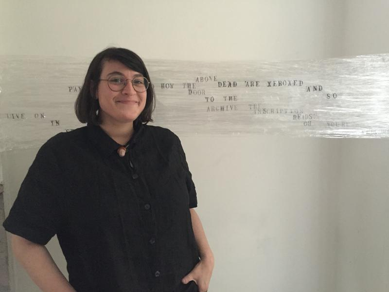 Dreamland artist-in-residence RE Katz