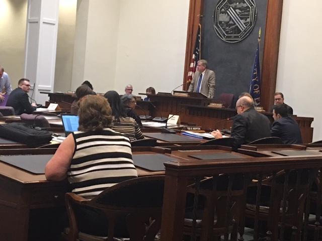 Erie County Legislature Committee meeting.