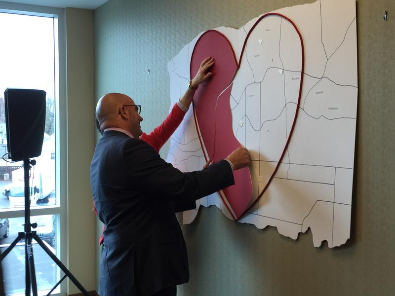 "Jody Lomeo covers a portion of the ""heart"" of Niagara County"
